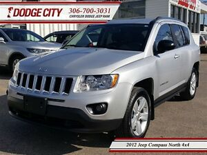 2012 Jeep Compass North | 4x4 | PST PAID