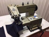 Mauser Spezial Blind Hemmer / Hemming / Felling Industrial Sewing Machine Japan