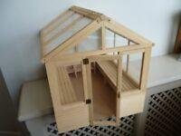 Dolls house greenhouse