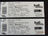 john mayall concert tickets truro best seating october 27th