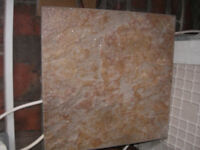 Floor tiles Riven pattern 34cm x 34cm