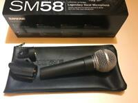 Shure SM58 PRETTY MUCH BRAND NEW BOXED