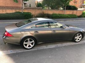 Mercedes CLS brown graphite