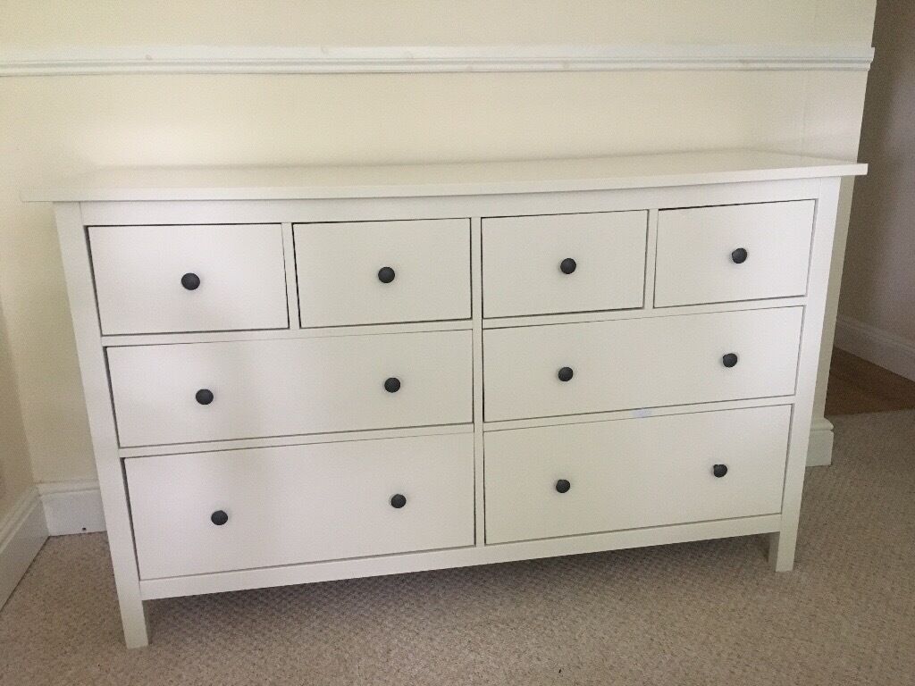 white dresser ikea ikea hemnes chest of 8 drawers white 160x95 in 13840