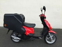 TGB 125 delivery scooter