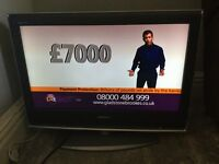 Sony Bravia flat screen television built in freeview