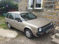 NISSAN SUNNY ESTATE 1.3DX MANUAL PETROL ** FUTURE CLASSIC** RARE TO FIND **