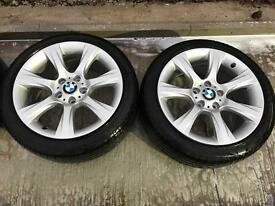"GENUINE 18"" BMW F30 ALLOYS"