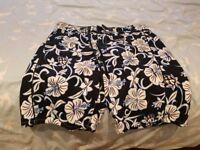 New Unworn Next Floral Print Men's Shorts - Large