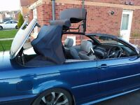 BMW 3 SERIES M SPORT CONVERTIBLE LOW MILES LEATHER INTERIOR (SWAP PX P/X PART EXCHANGE WELCOME)