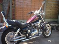 Yamaha Virago 1100 - excellent condition, low mileage.