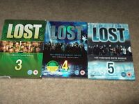 lost box sets series three,four and five in good condition,a bargain at only £5.00