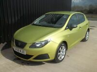 2008 (58) Seat Ibiza 1.2 S 5dr (a/c) Service History 3 Months Warranty Included May Px/Swap