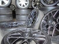 18inch genuine CADES alloys wheels audi bora a3 5x100 mk4 golf bbs seat vw tt beetle