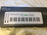 M-Audio Venom 49 key Synthesiser for sale (or to swap with a MIDI 61-88 key keyboard)