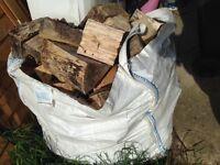 Large bag of logs