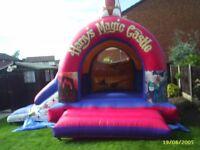 Large Bouncy Castle-Slide Combo For Sale.