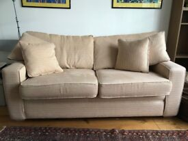Comfortable double sofa bed; perfectly versatile and compact for London homes!