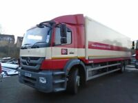 2012 MERCEDES AXOR 27FT BOX WITH TAIL LIFT