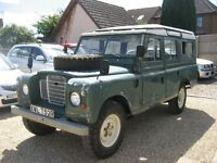 Land Rover Series 109 Station Wagon. 2.6 petrol. V reg 1976 .