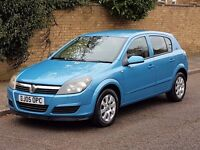VAUXHALL ASTRA CLUB TWINPORT 1.4 PETROL 2005 05REG LOW MILES FSH LONG MOT BARGAIN PRICED TO SELL