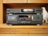 Technics Radio and Cassette Decks