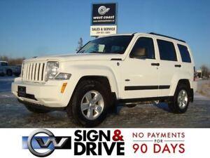 2012 Jeep Liberty Sport 4x4 *JANUARY SALE* $54 A WEEK $0 DOWN*