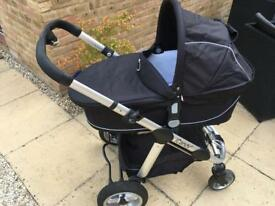 ICandy Apple Pram/Pushchair with Imperial Colour Pack