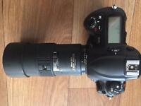 Nikon D3 camera / AF-NIKKOR 180mm f2.8 lens