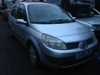 renault grand scenic 2005 1.9 diesel 5dr silver - breaking for spares