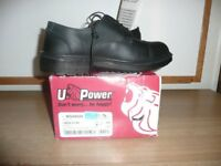 U Power London Executive Oxford Composite Safety Shoe With Midsole SIZE 7 BNIB