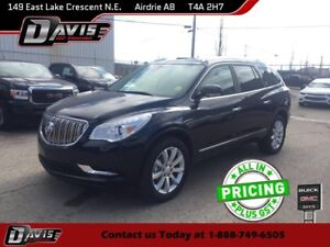 2017 Buick Enclave Premium HTD/CLD SEATS, DUAL PANEL MOOONROO...