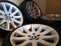 RARE GENUINE BMW ALLOY WHEELS + TYRES - GREAT PRICES / HUGE CHOICE / SUPERB CONDITION - 18'' 19''