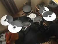 Roland TD4 KP Electronic Drum Kit. Mesh snare + Extras