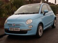 2012 Fiat 500 1.2 Lounge 3dr for sale