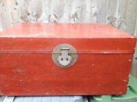 Oriental storage trunk