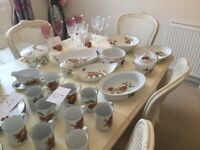 Royal Worcester Crockery made in Evesham Vale