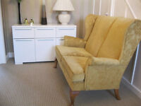 Original 2 seater Parker Knoll settee ,unused from new in perfect condition