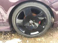 Audi TT Comps Freshly Powdercoated New Tyres 5x100 Polo Fabia Golf Bora A3