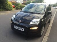 64 PLATE FIAT PANDA 2015 BLACK CAT D 11,700 MILES ONLY EXCELLENT CONDITION