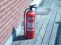 Fire Extinguisher. Water. Full Size
