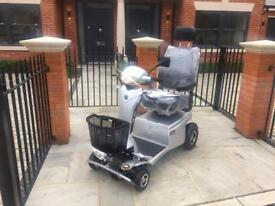 Quingo toura scooter cost £6550 10 hours use