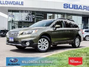 2016 Subaru Outback 2.5i Touring | POWER LIFTGATE | ONE OWNER