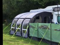 Kampa Rally Air Pro 390 XL Awning Used Twice