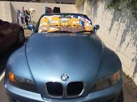 Bmw z3 convertible great fun for summer (sell or swap)