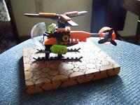 LEGO Agents Dr. D Zaster's Helicopter from 8969 WITH FIGURE