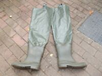 Waist high Boots /Waders size 2