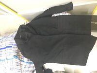 Women's black coat size m