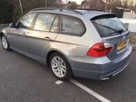 BMW 320D 2006 DIESEL ESTATE, 1 FORMER KEEPER, FULL SERVICE HISTORY £2100