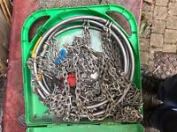 Fully working condition snow chains £30 ono + Postage and Packing (£150 when bought new)